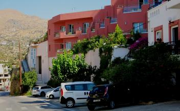 picture of ho10 Agia Galini South coast, Popular hotel with pool and parking
