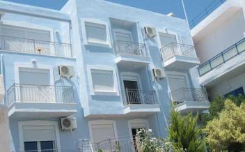 picture of ho21 Agia Galini, Apartment Block in superb position over looking the harbour