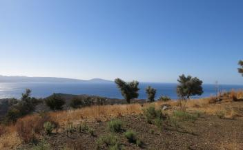 picture of pagi324 Buildable plot with views of sea and Agia Galini village