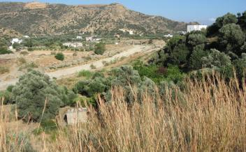 picture of pnag191 Plot with river and mountain views near to Agia Galini and beach
