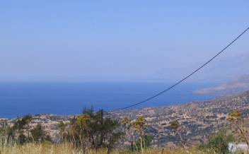 picture of psak166 Small village plot with sea and mountain views, Lower Saktouria