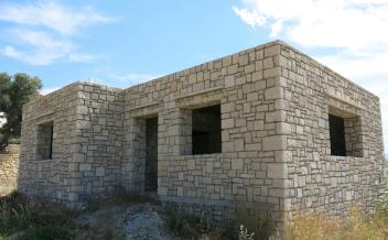 picture of sag277 A well built stone house near Agia Galini, with sea and  harbour views in a good neighbourhood