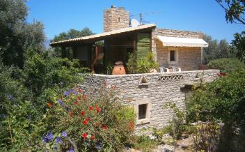 picture of skam280 Kamilari, south Crete. Characterful stone house with garden