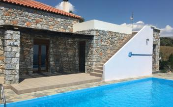 picture of sps284 Two bedroom stone house with swimming pool in Agia Paraskevi