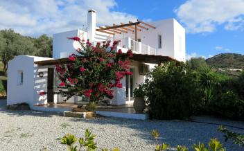 picture of vag182 Agia Galini, South Crete two bedroom villa with pool and sea views