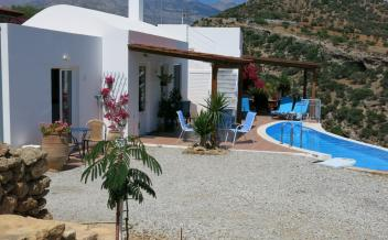 picture of vag188 Private two bedroom villa with pool and garden near Agia Galini