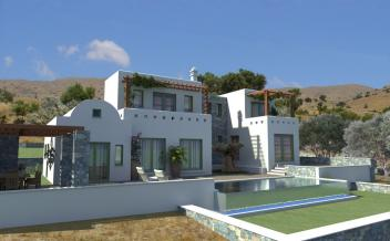 picture of vagi196 3 bedrooms, 4 bathrooms off plan villa with pool and sea views